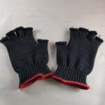 Fingerless Black Kevlar Gloves